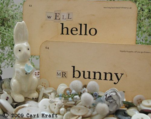 Well hello mr bunny