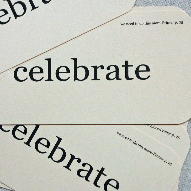 Celebrate flash card1