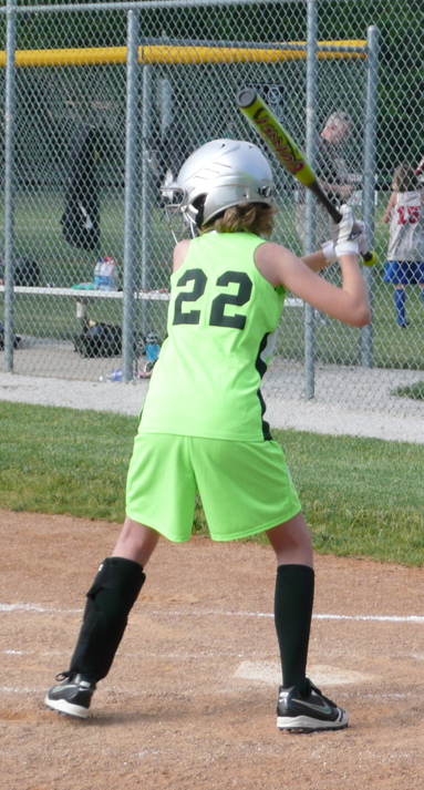 Maddy softball