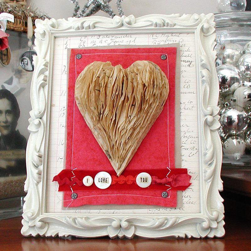 Sewing Pattern Heart